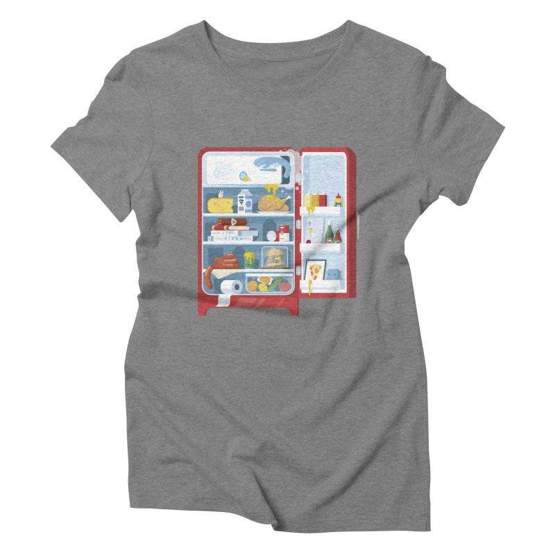 Our Fridge Women's T-Shirt by ricosquesos's Artist Shop