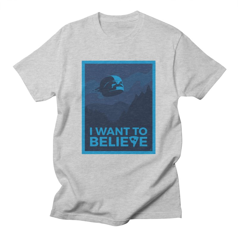 I Want to Believe Men's T-Shirt by ricosquesos's Artist Shop
