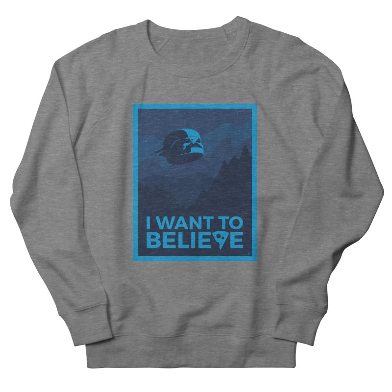 I Want to Believe Men's Sweatshirt by ricosquesos's Artist Shop