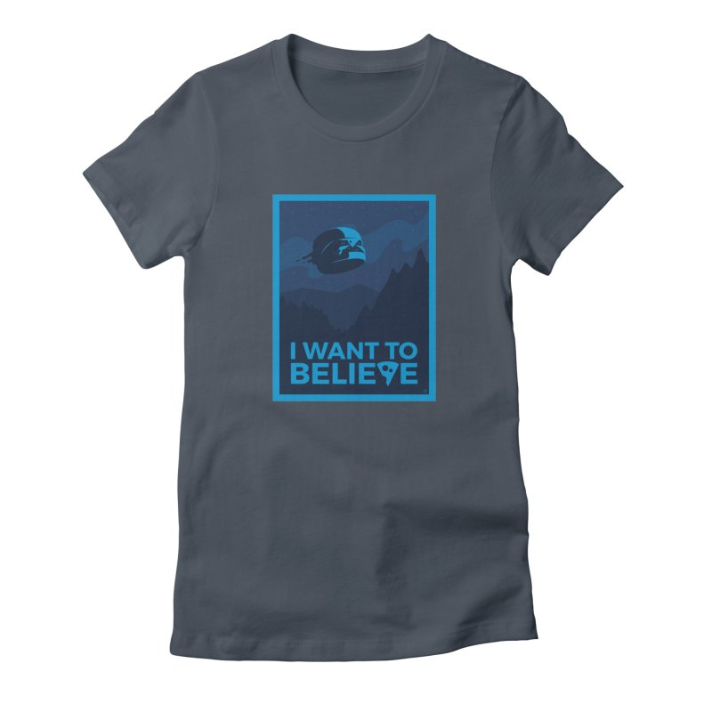 I Want to Believe Women's T-Shirt by ricosquesos's Artist Shop