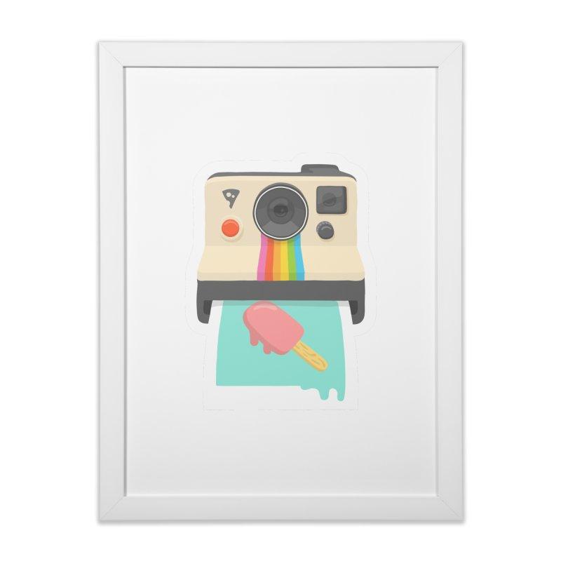 Summer Things Home Framed Fine Art Print by ricosquesos's Artist Shop