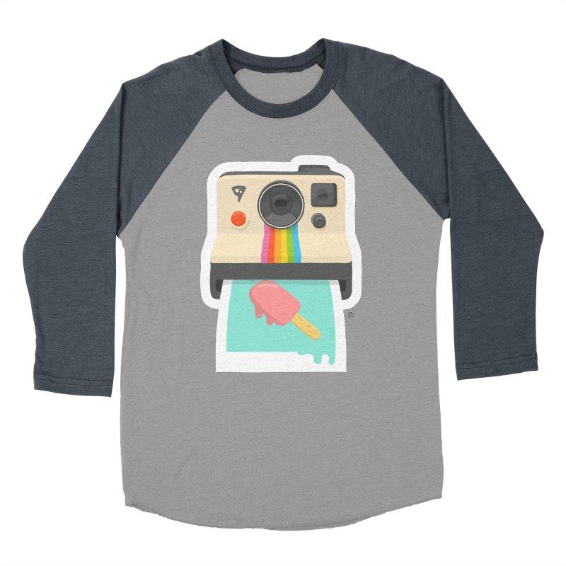 Summer Things Women's Baseball Triblend T-Shirt by ricosquesos's Artist Shop