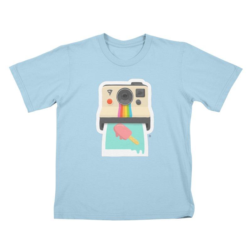 Summer Things Kids T-Shirt by ricosquesos's Artist Shop