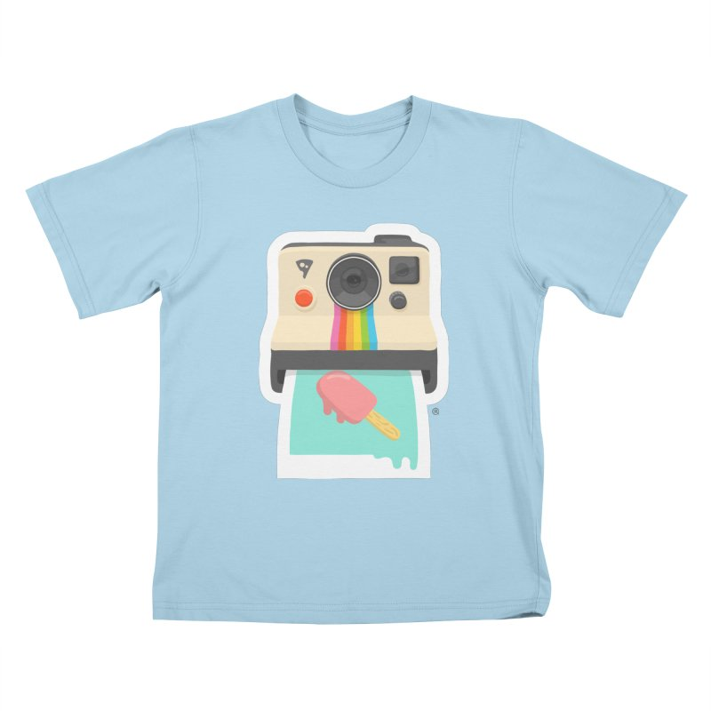 Summer Things Kids T-Shirt by ricosquesos's Artist Shop