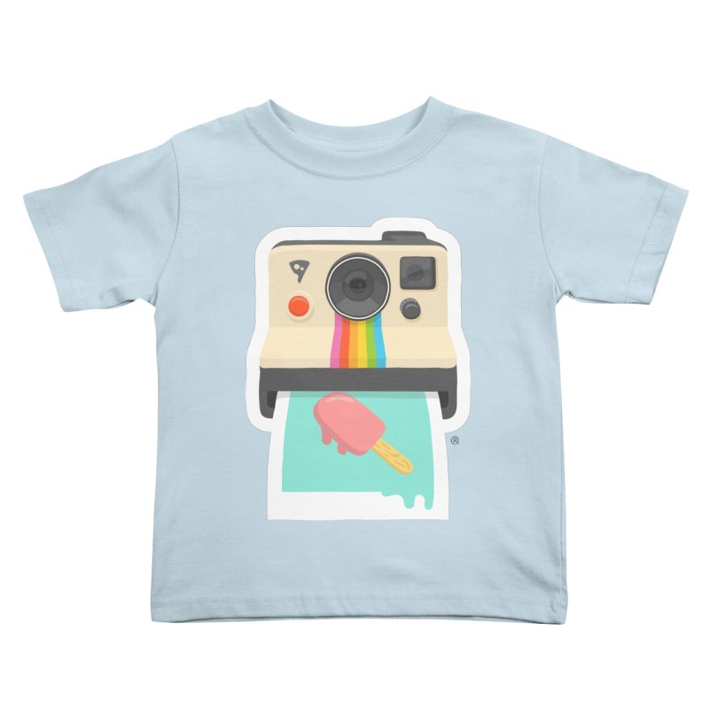 Summer Things Kids Toddler T-Shirt by ricosquesos's Artist Shop