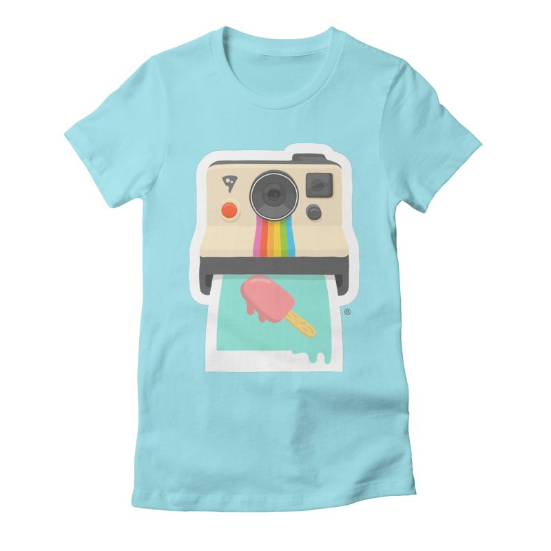 Summer Things Women's Fitted T-Shirt by ricosquesos's Artist Shop