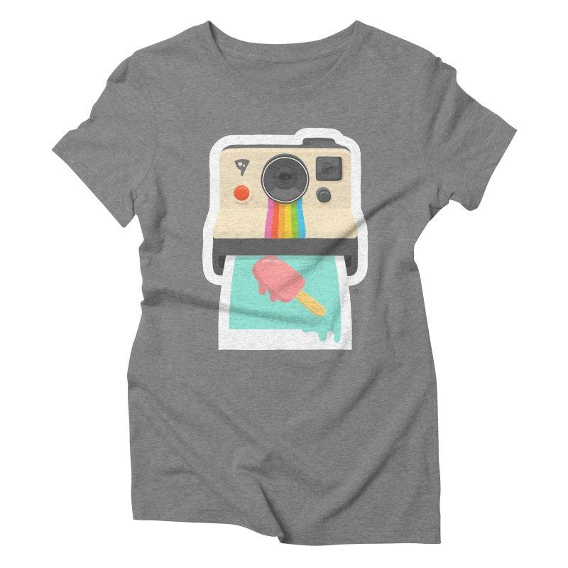 Summer Things Women's Triblend T-Shirt by ricosquesos's Artist Shop