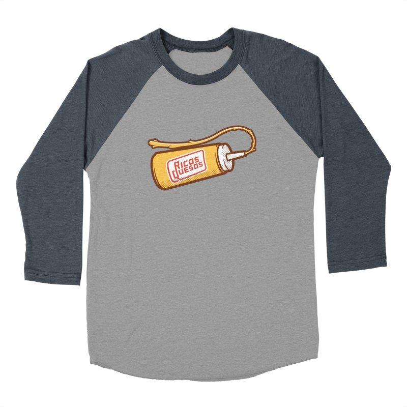 Cream Cheese Women's Baseball Triblend Longsleeve T-Shirt by ricosquesos's Artist Shop