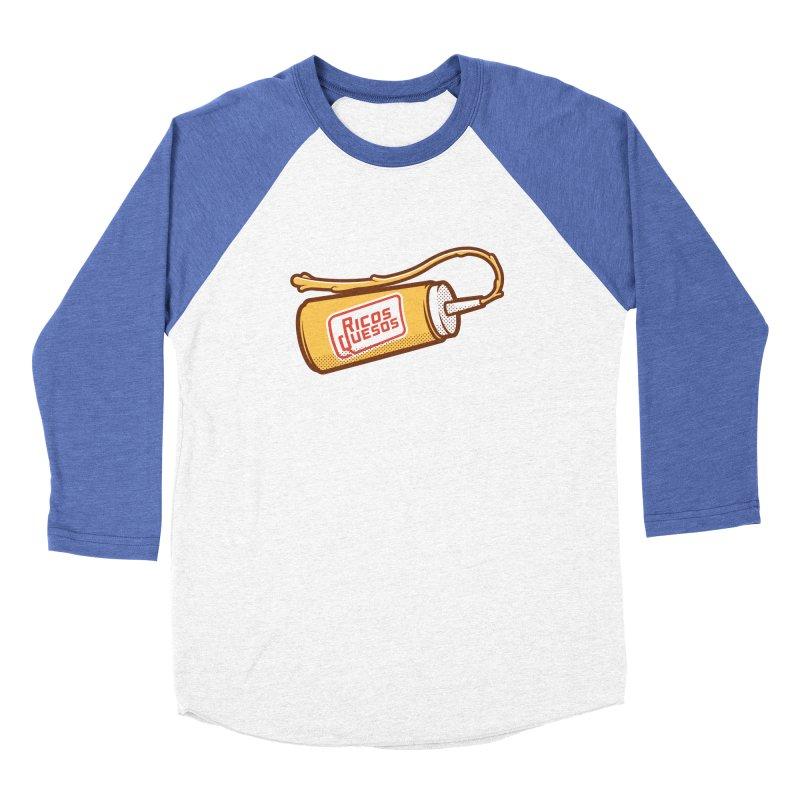 Cream Cheese Men's Baseball Triblend Longsleeve T-Shirt by ricosquesos's Artist Shop