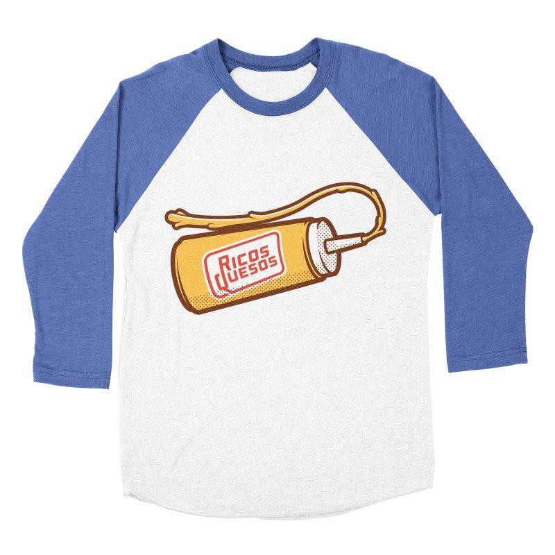Cream Cheese Women's Baseball Triblend T-Shirt by ricosquesos's Artist Shop