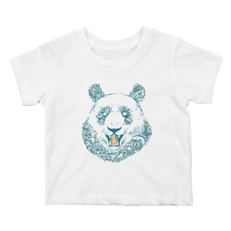 inthewoods Kids Baby T-Shirt by riffstore