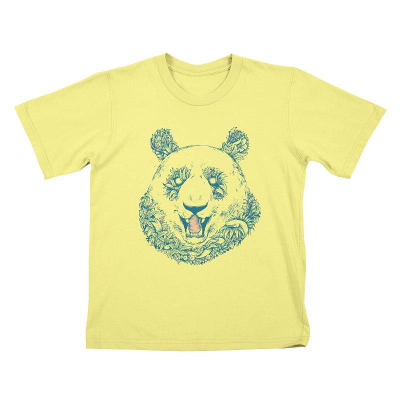 inthewoods Kids T-shirt by riffstore