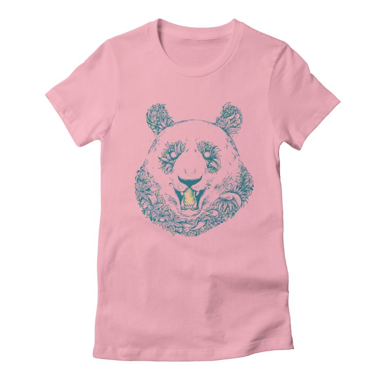 inthewoods Women's Fitted T-Shirt by riffstore