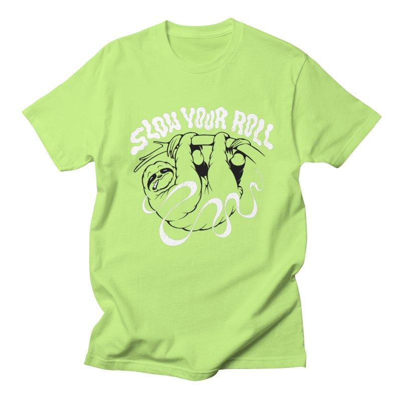 Slow Your Roll Men's Regular T-Shirt by riffstore