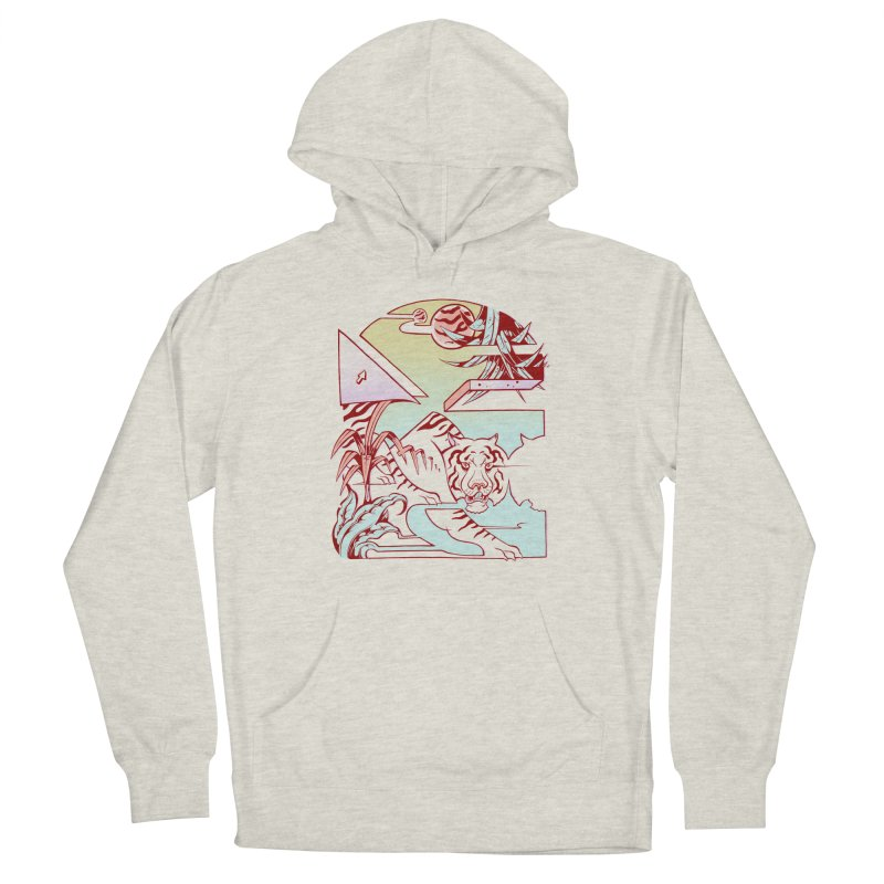 Unnatural Habitat  Men's French Terry Pullover Hoody by riffstore