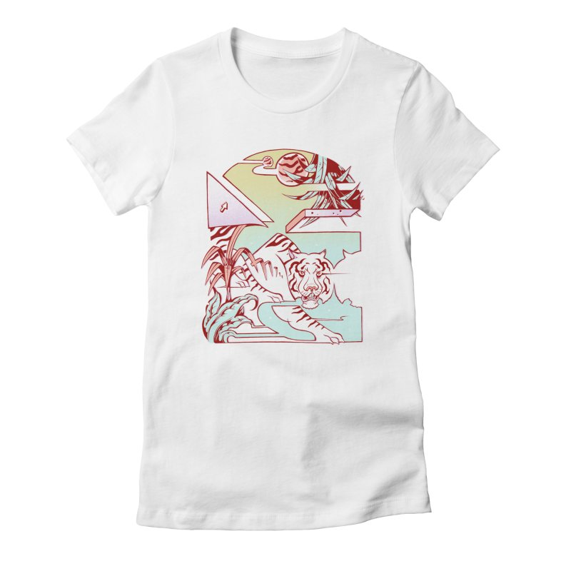Unnatural Habitat  Women's Fitted T-Shirt by riffstore