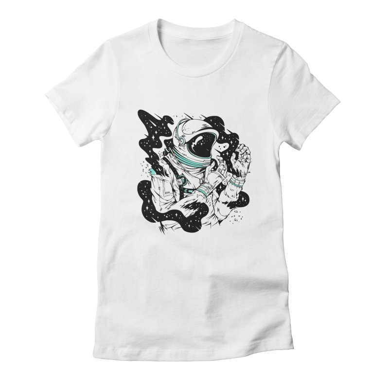 Rough Space Women's Fitted T-Shirt by riffstore