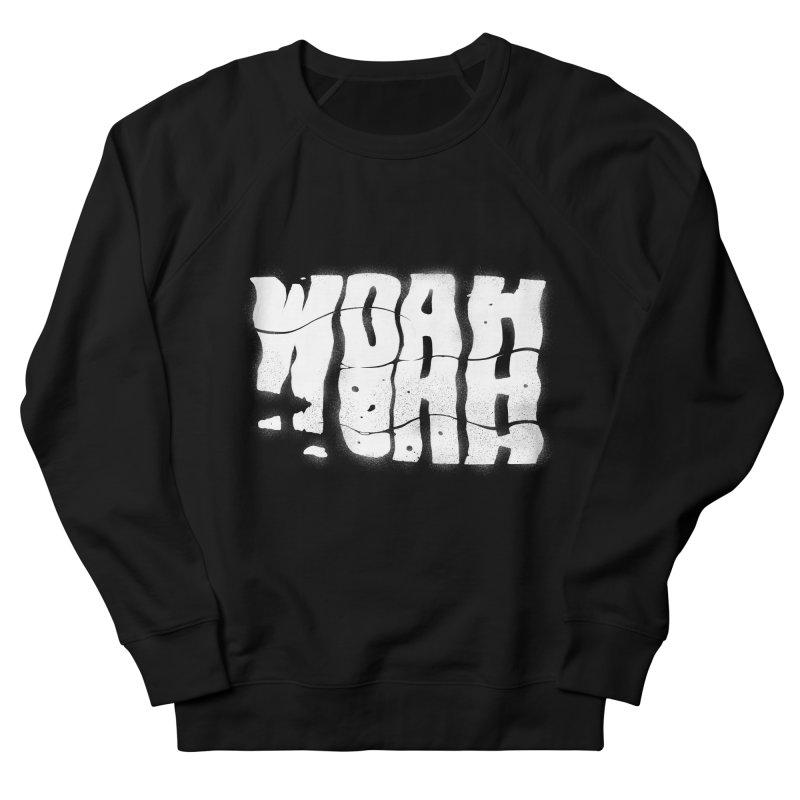 W O A H Men's French Terry Sweatshirt by riffstore