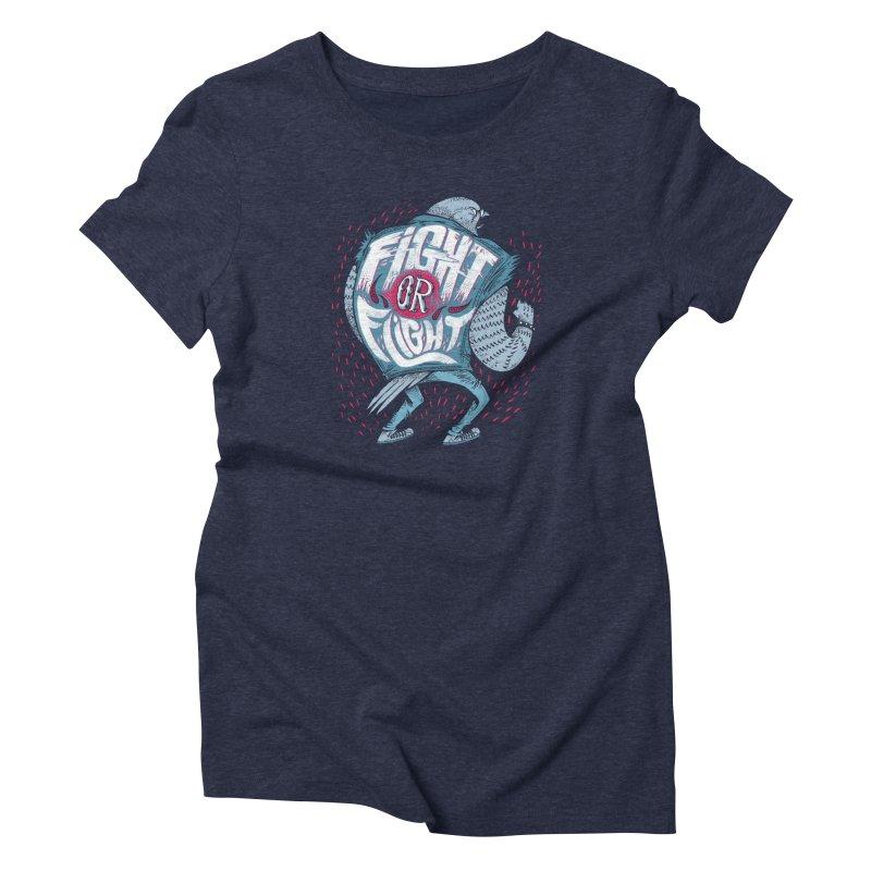 Fight or Flight Women's T-Shirt by riffstore