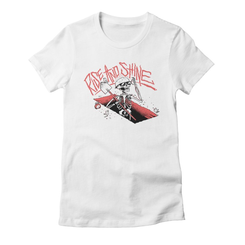Good Mourning Women's Fitted T-Shirt by riffstore