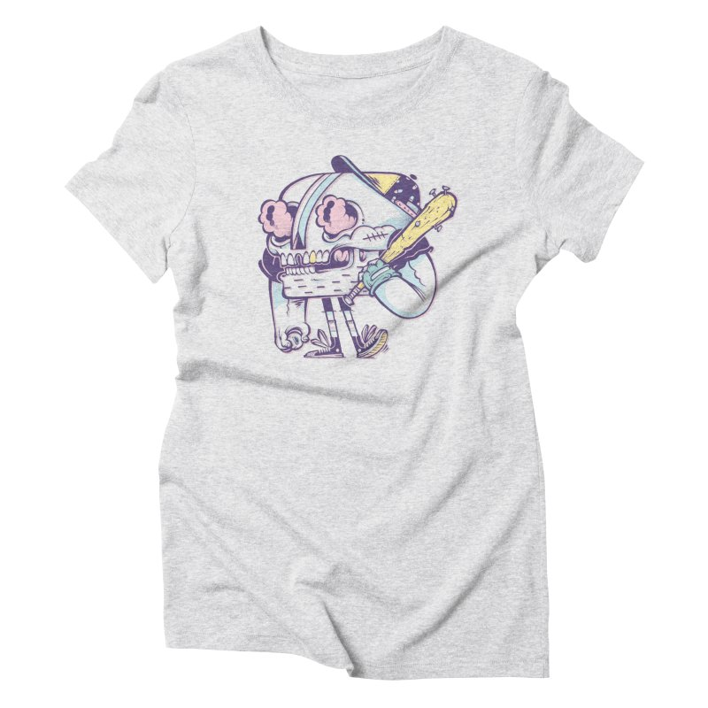 Slugger Women's Triblend T-Shirt by riffstore