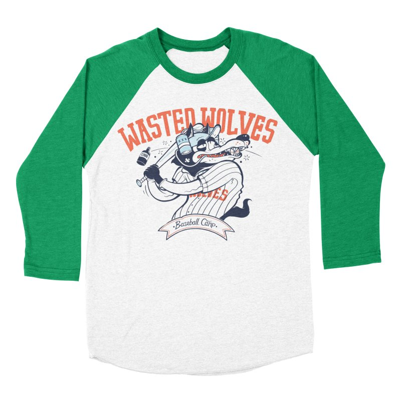 Wasted Wolves Women's Longsleeve T-Shirt by riffstore