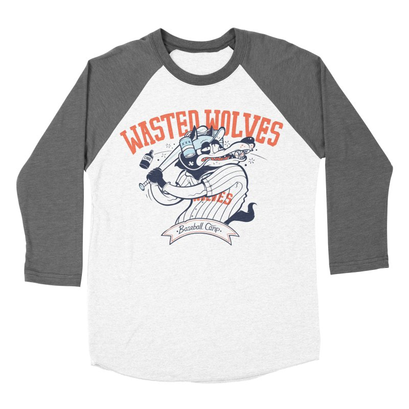 Wasted Wolves Men's Longsleeve T-Shirt by riffstore