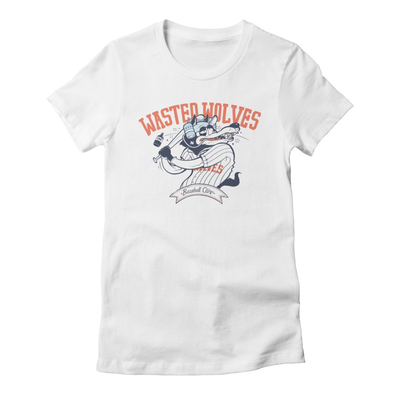 Wasted Wolves Women's T-Shirt by riffstore