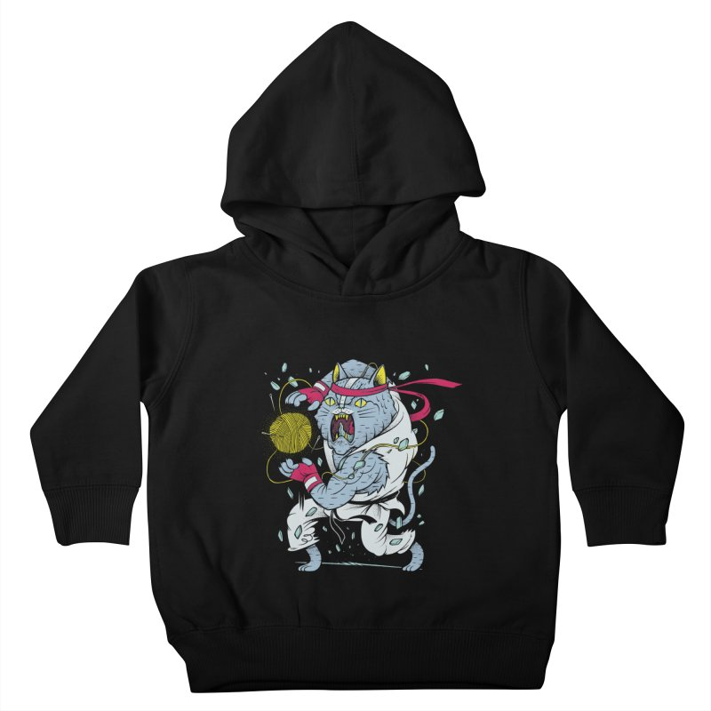 HADOUKAT! Kids Toddler Pullover Hoody by riffstore
