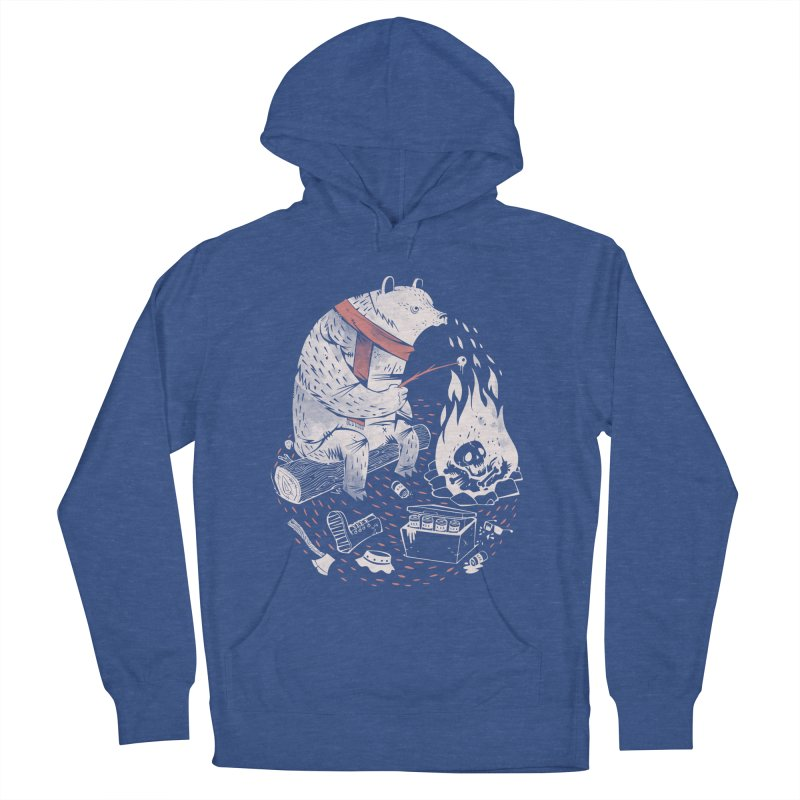 The Great Outdoors Men's French Terry Pullover Hoody by riffstore