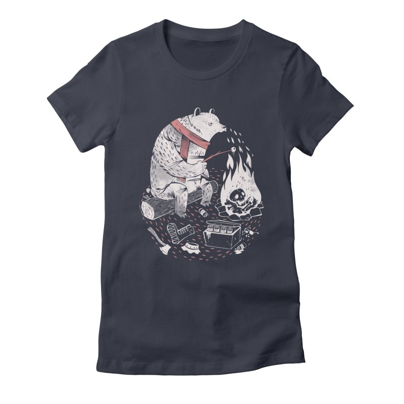 The Great Outdoors Women's Fitted T-Shirt by riffstore