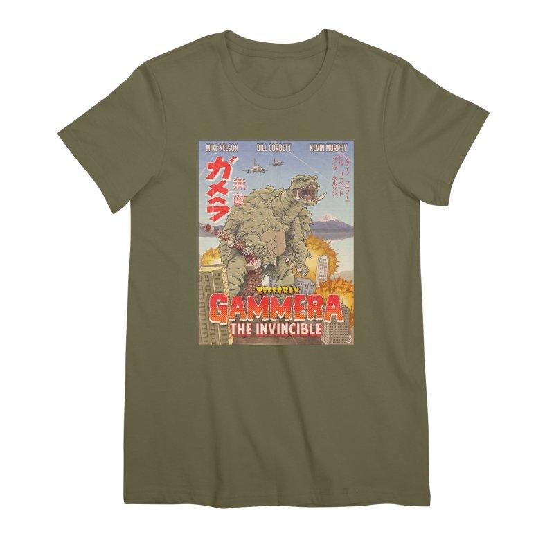 Gammera the Invincible Women's Premium T-Shirt by RiffTrax on Threadless!