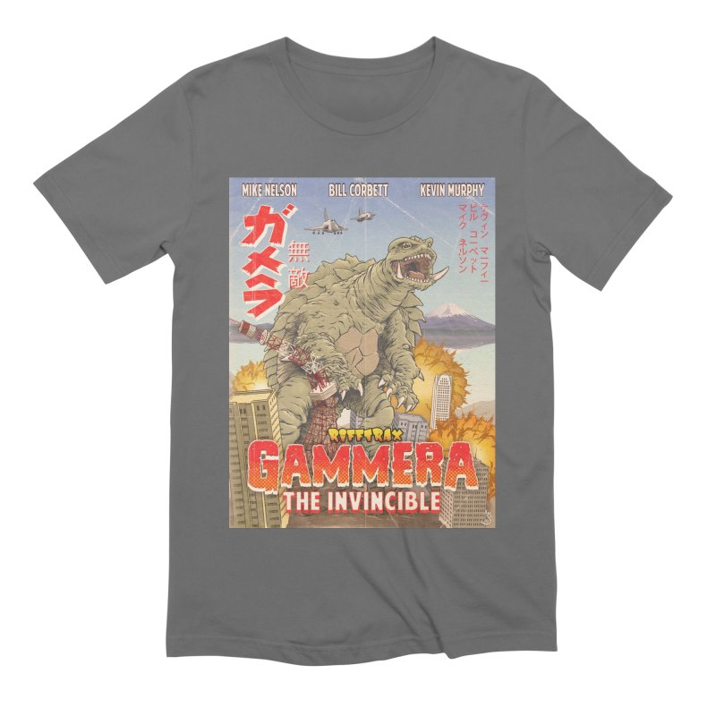 Gammera the Invincible Men's Extra Soft T-Shirt by RiffTrax on Threadless!