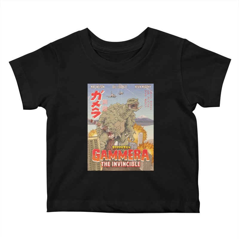Gammera the Invincible Kids Baby T-Shirt by RiffTrax on Threadless!