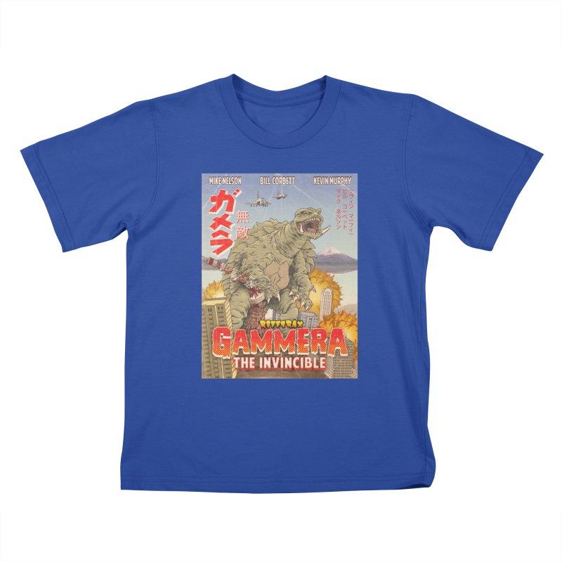 Gammera the Invincible Kids T-Shirt by RiffTrax on Threadless!
