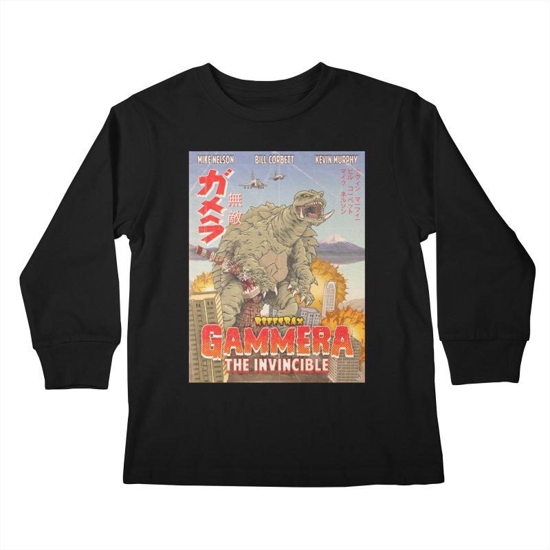 Gammera the Invincible Kids Longsleeve T-Shirt by RiffTrax on Threadless!