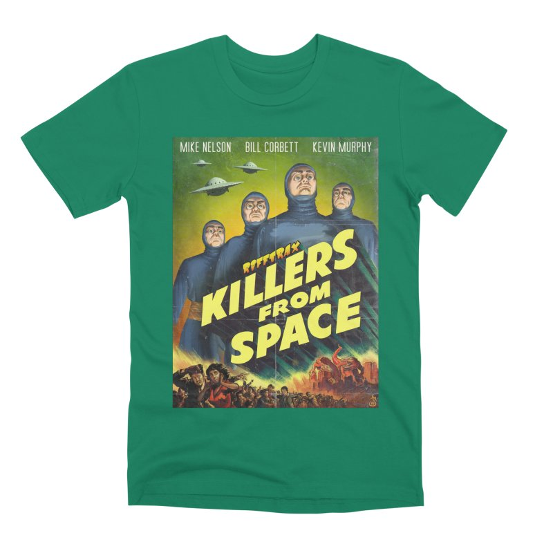 Killers from Space Men's Premium T-Shirt by RiffTrax on Threadless!