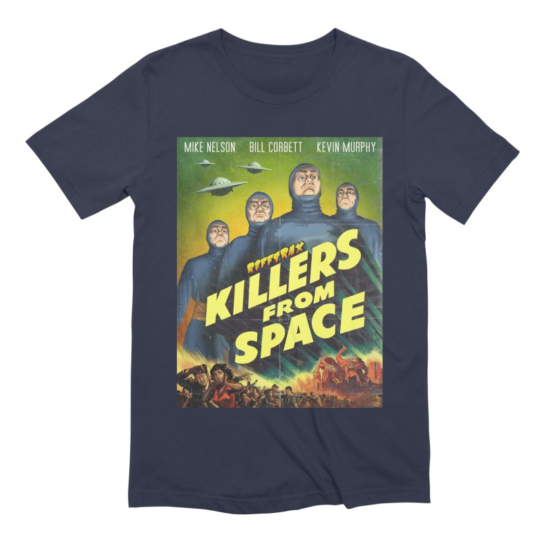 Killers from Space Men's Extra Soft T-Shirt by RiffTrax on Threadless!