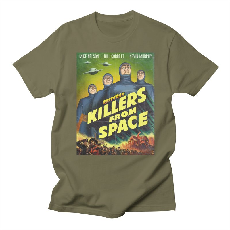 Killers from Space Men's Regular T-Shirt by RiffTrax on Threadless!