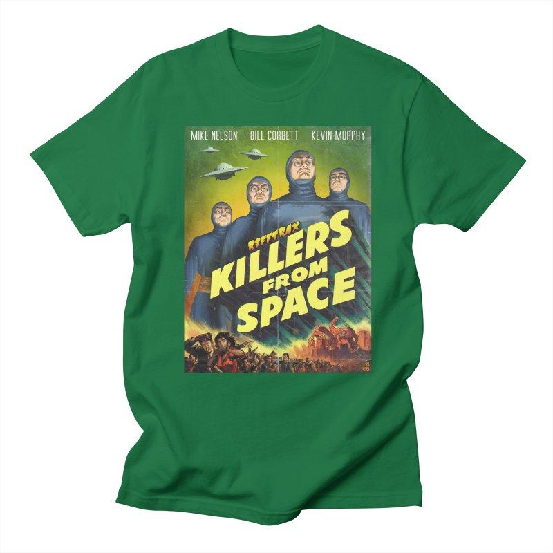 Killers from Space Women's Regular Unisex T-Shirt by RiffTrax on Threadless!