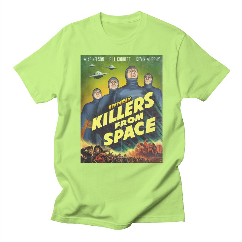 Killers from Space Women's Regular Unisex T-Shirt by RiffTrax on Threadless!
