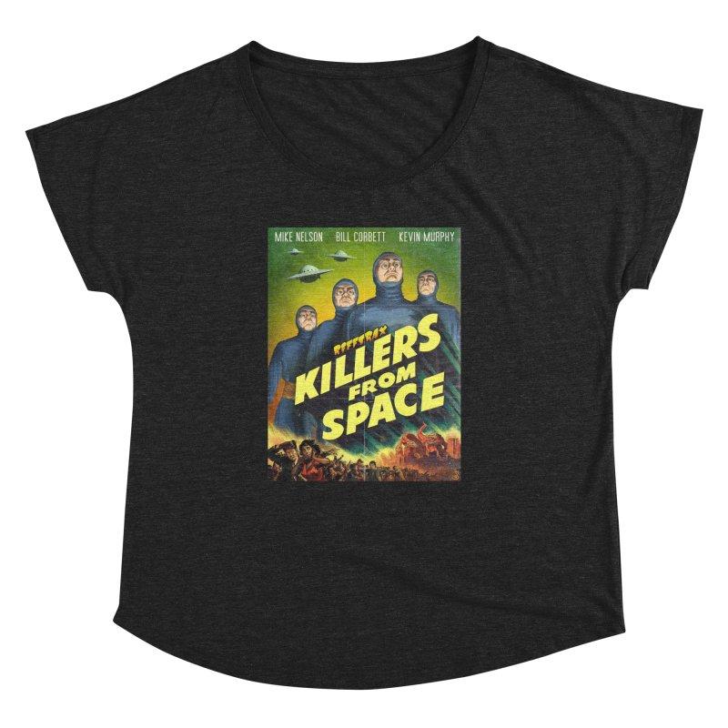 Killers from Space Women's Dolman Scoop Neck by RiffTrax on Threadless!
