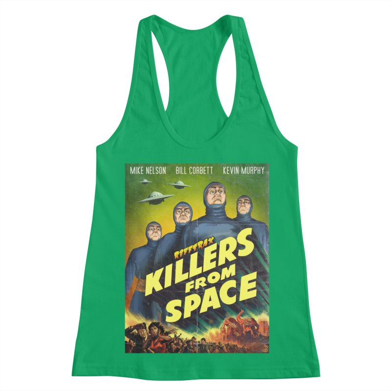 Killers from Space Women's Racerback Tank by RiffTrax on Threadless!