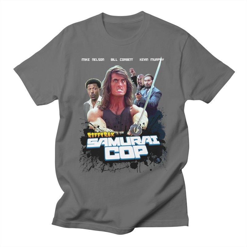 Samurai Cop Men's T-Shirt by RiffTrax on Threadless!