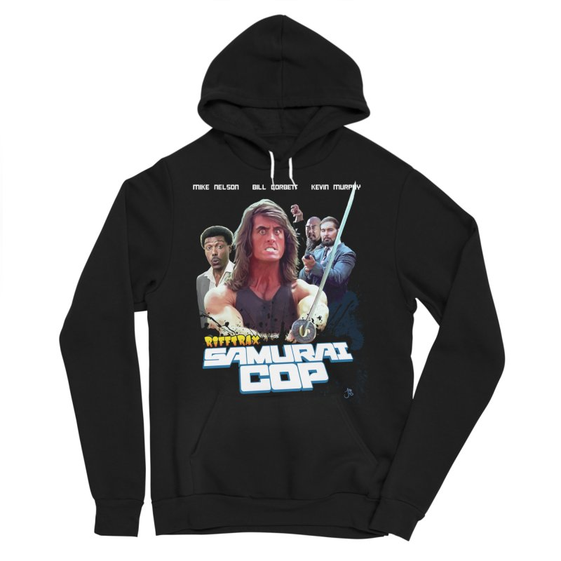 Samurai Cop Men's Sponge Fleece Pullover Hoody by RiffTrax on Threadless!
