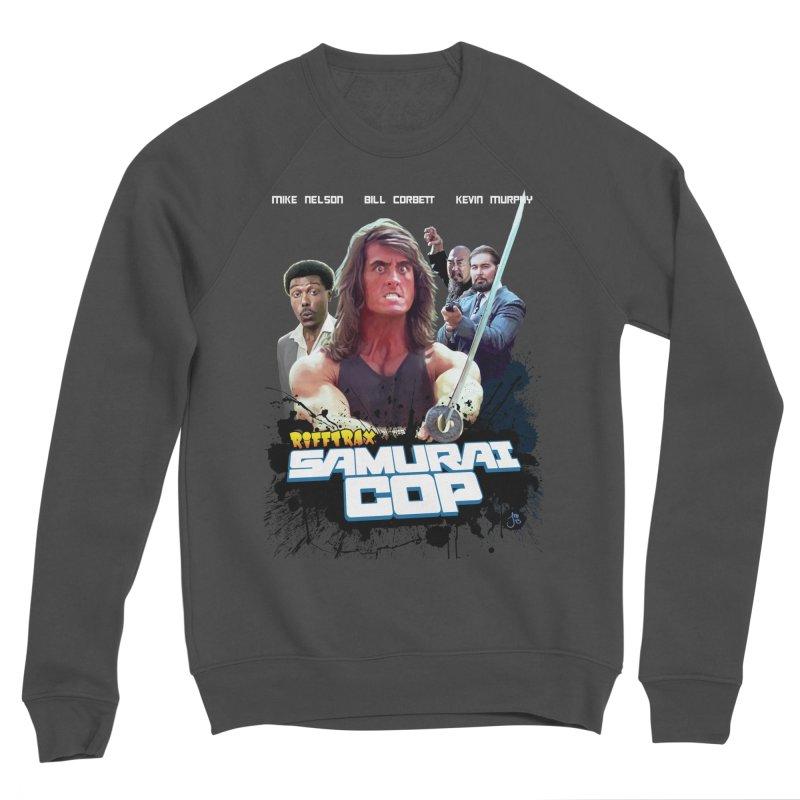 Samurai Cop Women's Sponge Fleece Sweatshirt by RiffTrax on Threadless!