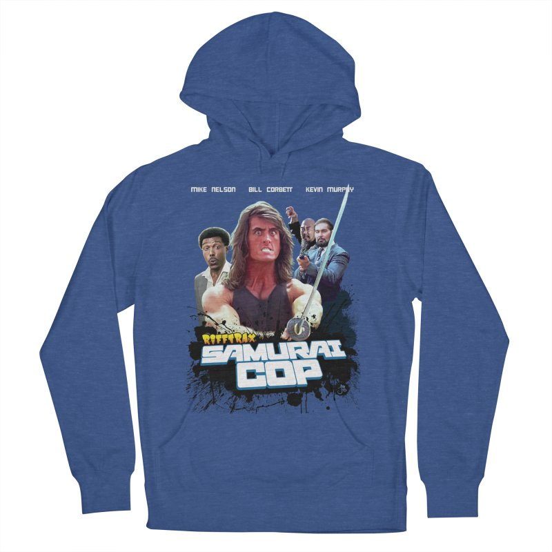 Samurai Cop Men's French Terry Pullover Hoody by RiffTrax on Threadless!