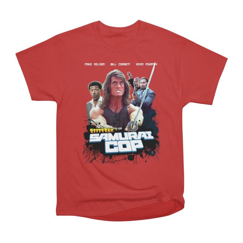 Samurai Cop Men's Heavyweight T-Shirt by RiffTrax on Threadless!