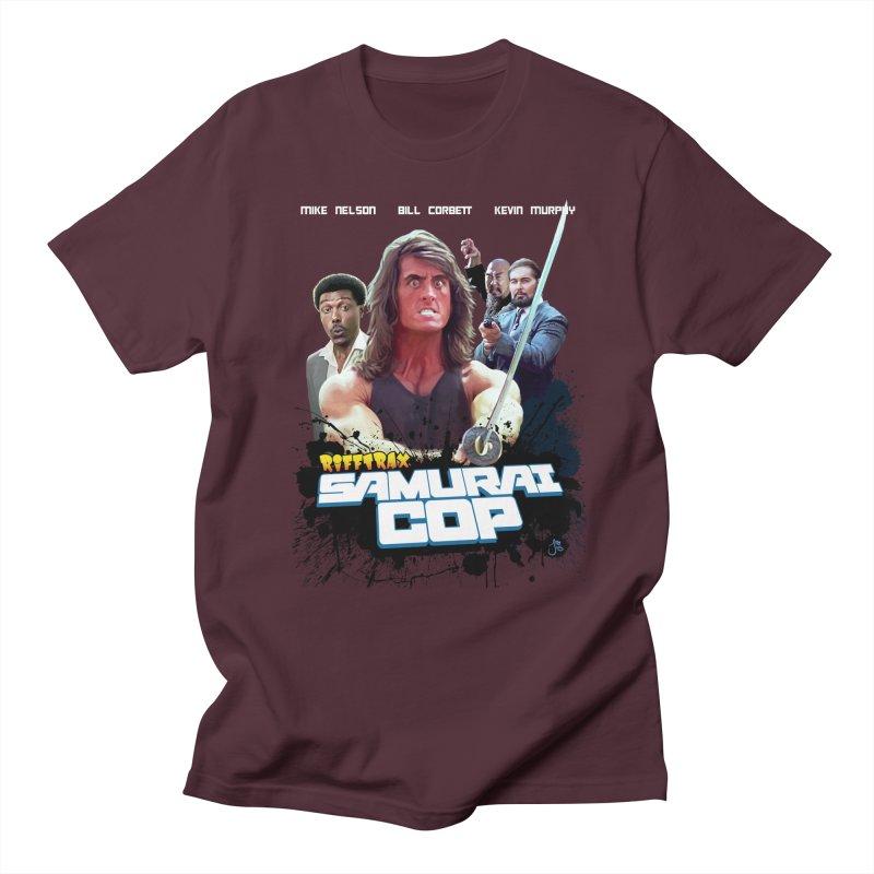 Samurai Cop Men's Regular T-Shirt by RiffTrax on Threadless!