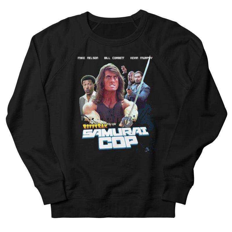 Samurai Cop Women's French Terry Sweatshirt by RiffTrax on Threadless!